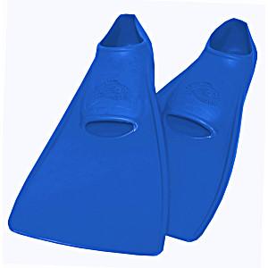 Ласты SwimSafe детские закрытая пятка для бассейна резиновые размер – 26 синие СВИМСЕЙФ Германия